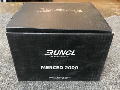 RUNCL MERCED 2000 SPINNING FISHING REEL / NOB
