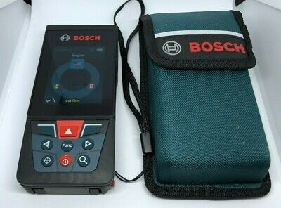 Bosch GLM400C Outdoor Laser Measure Tool 400 ft with Bluetooth BLAZE&Viewfinder