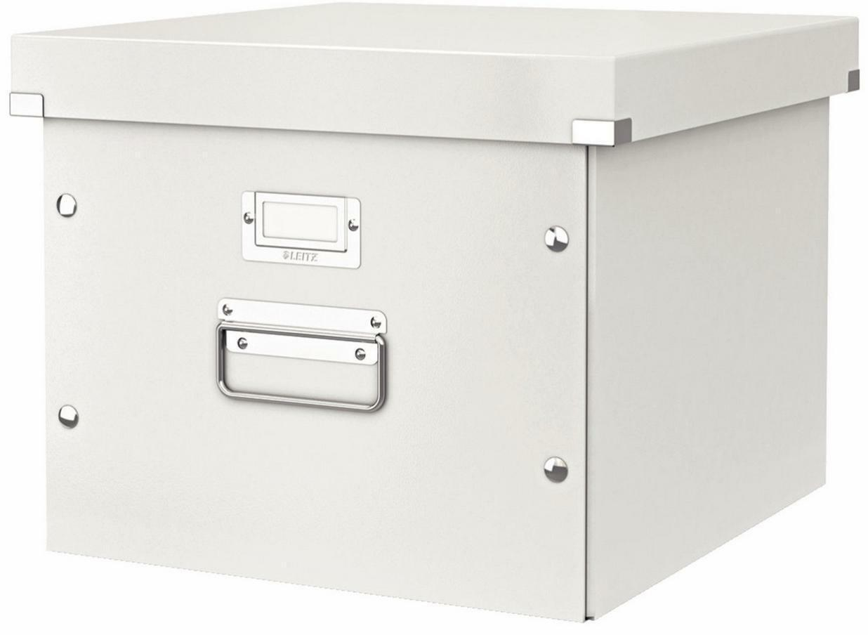 LEITZ Hängemappen-Box Click & Store Nr. 6046-00-01 Hängeregistratur-Box weiß