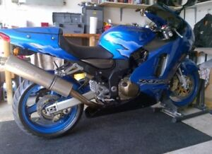 Sports bike stand for sale.