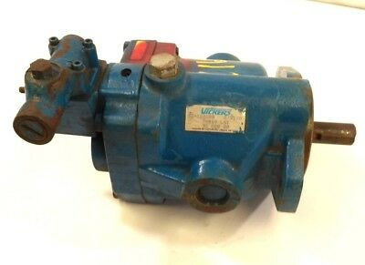 Vickers 02-102089 Hydraulic Pump Pbv 10 Lsy 31 Ccg 20