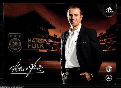 Hansi Flick DFB Autogrammkarte WM 2010+  75740 + A 68335