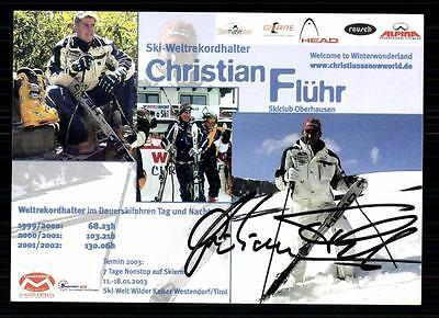 Christian Flühr TOP AK Orig. Sign. +A 10289 + A 71585