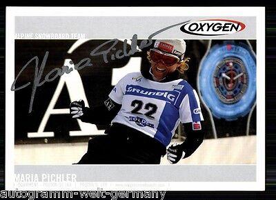 Maria Pichler TOP AK Orig. Sign. +A 19560 + A 66258