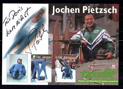Jochen Pietzsch Autogrammkarte Original Signiert Rodeln +A 74272