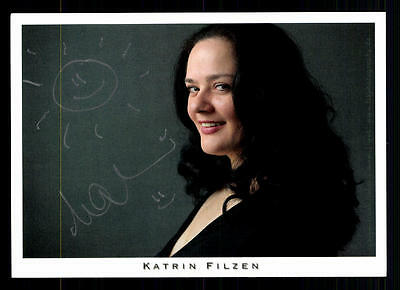 Katrin Filzen Autogrammkarte Original Signiert # BC 44957