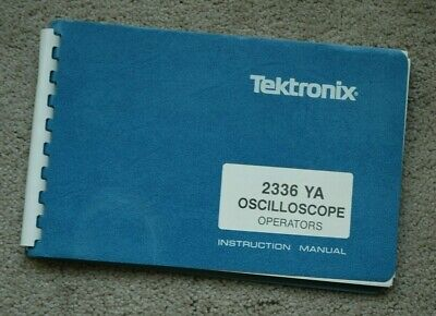 Tektronix 2336 Ya Original User Manual Paper Manual