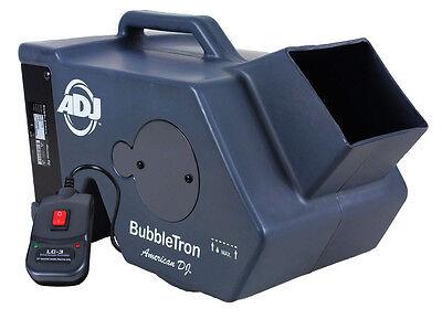 American DJ BUBBLE TRON High Output Bubble Machine w/ Remote Bubbletron