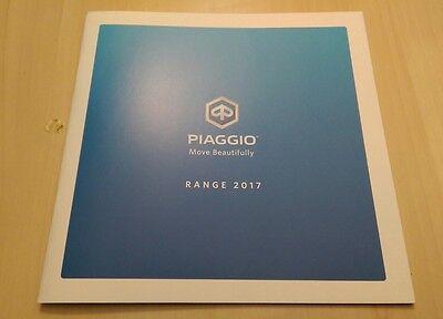 Piaggio 2017 Scooter / Moped Model Range Brochure