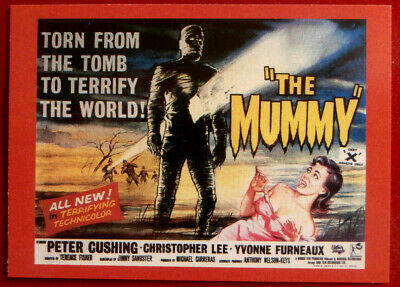 HAMMER HORROR - Series 2 - Card #154 - The Mummy - Yvonne Furneaux
