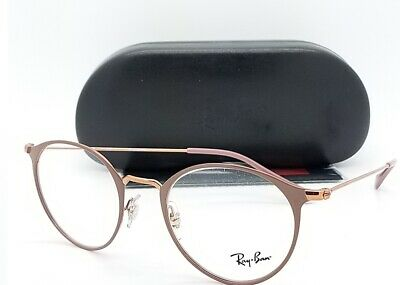 NEW RayBan RX Frame Prescription Glasses Bronze RX6378 2973 49mm AUTHENTIC