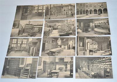Lot Vintage Old Nels Postcard Museum Plantin Moretus Grande Early Century 1900's