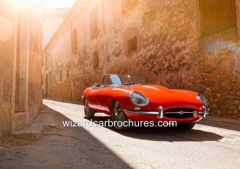 1961 JAGUAR XKE E TYPE ROADSTER QUALITY A3 POSTER PRINT AD SHED GARAGE