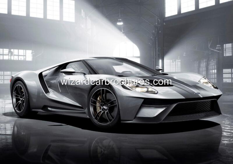 2016 FORD GT GT40 A3 POSTER PRINT AD SHED GARAGE