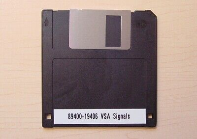 Agilent Hp 89400-19406 Vector Signal Analyzer Signals Disk For 89441a And 89410a
