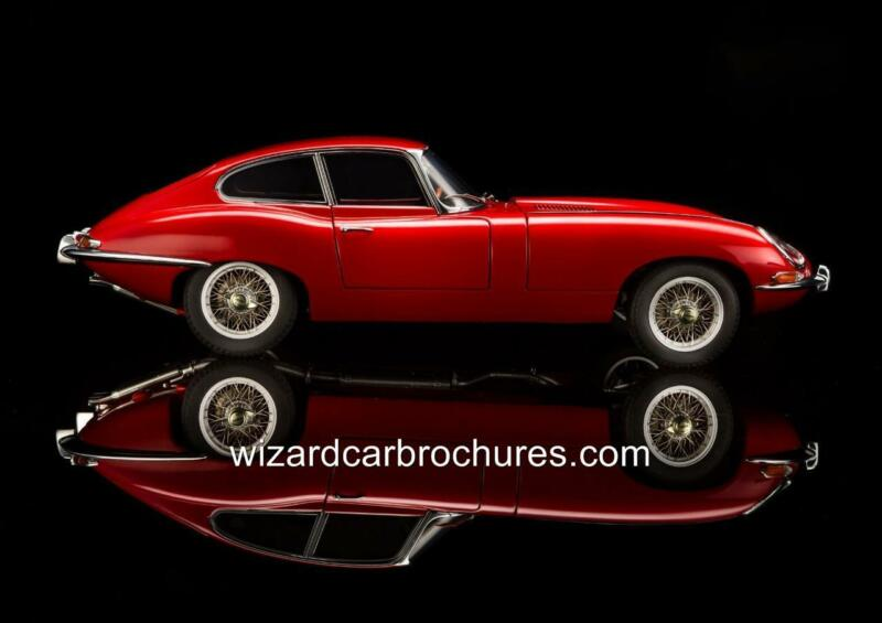 1962 JAGUAR XKE E TYPE 3.8 FIXED HEAD QUALITY A3 POSTER PRINT AD SHED GARAGE