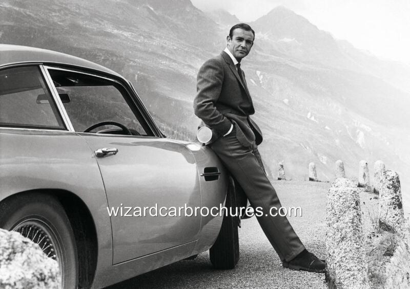 1964 ASTON MARTIN DB5 SEAN CONNERY JAMES BOND 007 QUALITY A3 POSTER PRINT AD