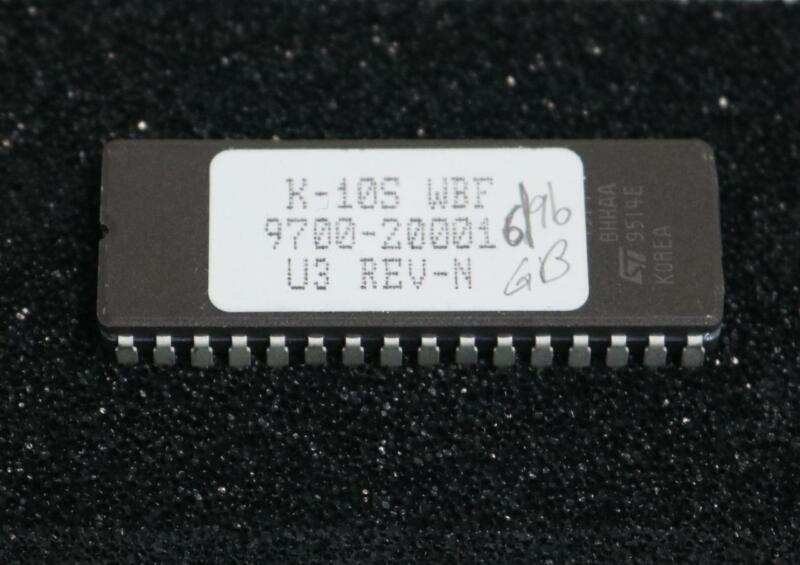 K-Tron 9700-20001 K-10S WBF U3 REV-N Software