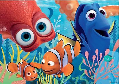 FINDING DORY//NEMO #D8 A4 POSTER WALL ART