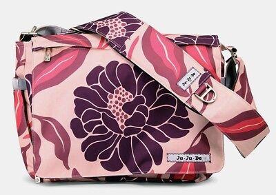 JUJUBE - BE ALL - Bashful Begonias - baby changing bag - NEW