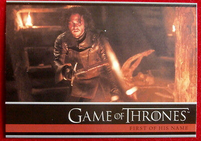 GAME OF THRONES - Season 4 - Card #15 - FIRST OF HIS NAME C - Rittenhouse 2015