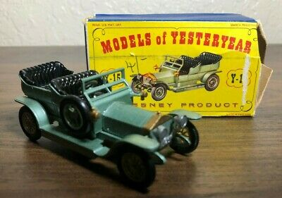 Lesney Matchbox Models of Yesteryear Y-15 Rolls-Royce Silver Ghost