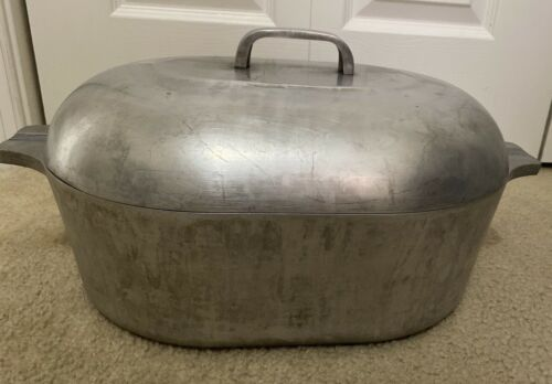 Wagner GHC Magnalite Oval Roaster 13 qt (?) with Lid