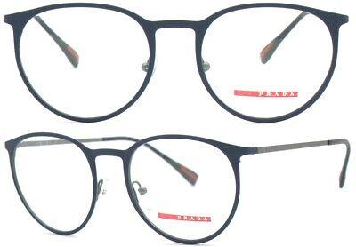 Prada Linea Rossa Damen Herren Brillenfassung PS50HV TFY-1O1 52mm blau 448 59