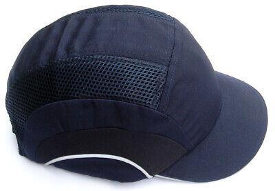Jsp Hardcap A1 Bump Cap Navy Blue Low Profile Adj Baseball Style 282-abs150-21