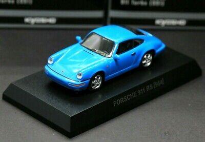 Kyosho 1/64 Porsche Collection 6 Porsche 911 Carrera RS 964 1992 Blue