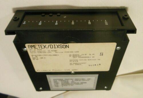 AMETEK/DIXSON INDICATOR, DIGITAL DISPLAY W/ALARM FUNCTION #BB101AKTX4/20MADCV