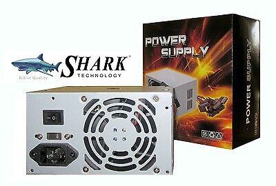 New SHARK 500W 20/24pin IDE/SATA ATX 12V Computer Power Supply Desktop PC PSU PS