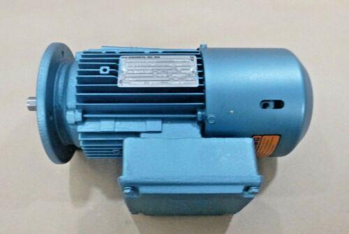 SEW Eurodrive 1 Hp. Brake Motor DTF80N4BN61NR , 1700 Rpm - 230/460 Volt - 80 Fr.