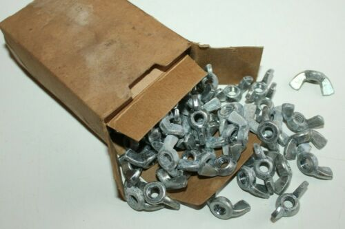 """g) Steel Wing Nuts - 1/4"""" - 20 - 100 CT"""