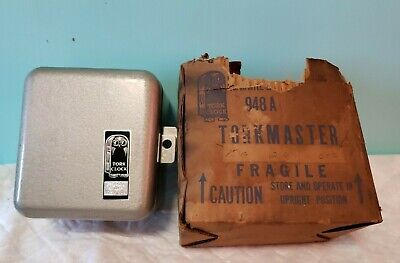 Vintage Tork Clock 948a Mechanical Timer 230v 15a 60c With Original Box