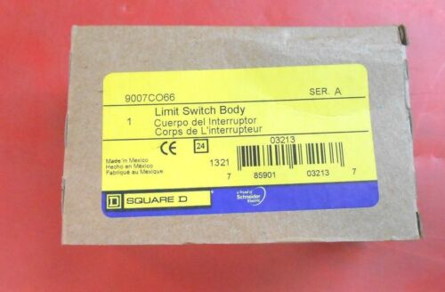 SQUARE D 9007C066 SER. A LIMIT SWITCH BODY - NEW