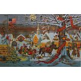 Charles Wysocki Small Town Christmas print Signed & Numbered With Certificate