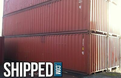 Sale Shipping Containers In North Carolina 40ft Hc Used Lowest Price - Durham