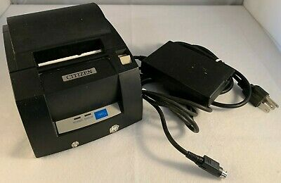 Citizen Thermal Receipt Printer Ct-s Series Model Ct-s310a Pos Power Supply