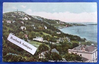 Vintage Postcard Killiney Co Dublin