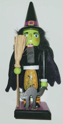 "Halloween Nutcracker Witch 9"""