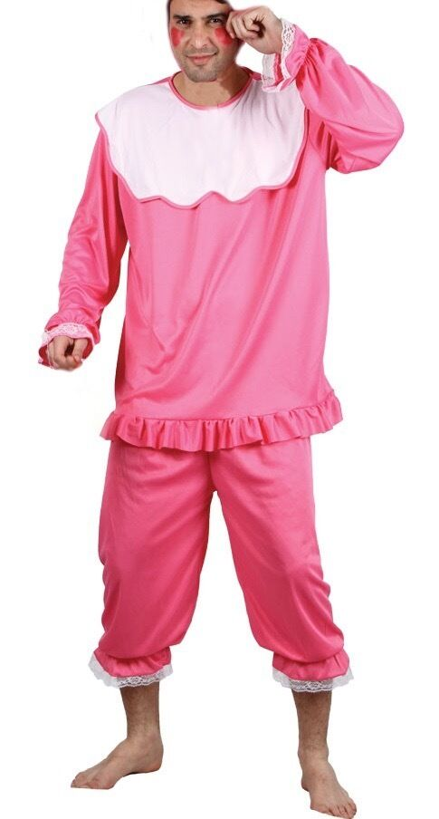 Adult Baby Fancy Dress Pink Baby Grow outfit stag do hen do | in ...