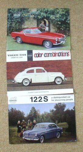 1961-62 Volvo Showroom Flyers