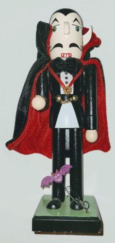 "Halloween Nutcracker Dracula Vampire 9.5"""