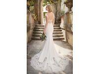 Essense of Australia Wedding Dress, D1897zz, Ivory, Size 10/12