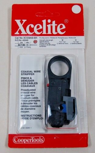 Xcelite Coaxial Wire Stripper (3CS5859BR) - 10030134