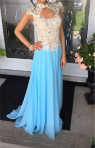 GRAD PROM EVENING GOWN BEAUTIFUL