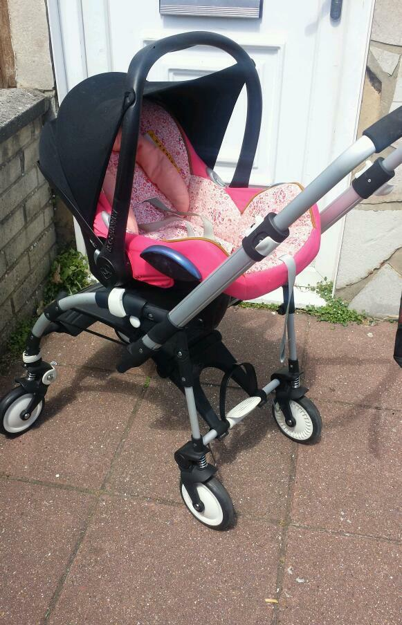 bugaboo bee frame adapters maxi cosi car seat in portsmouth hampshire gumtree. Black Bedroom Furniture Sets. Home Design Ideas