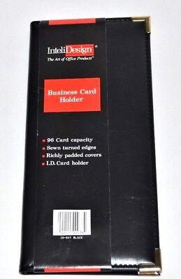 96 Business Card Folder Cover Organizer Book Case Keeper Holder Inteli Design