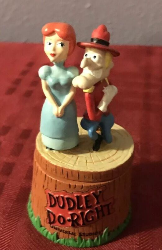 Dudley Do Right and Nell Fenwick Trinket Box